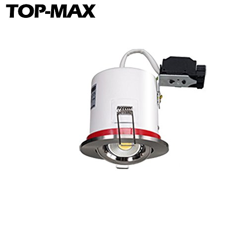 top-max-pack-of-1-fire-rated-downlight-spotlight-recessed-ceiling-titlable-brushed-chrome-finish-5w-