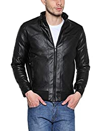 TSX Men's PU Leather Jacket