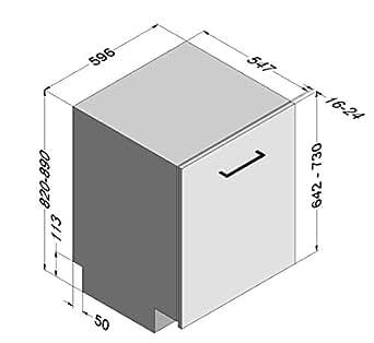NOVY 5064 Lave-vaisselle 39 dB Blanc
