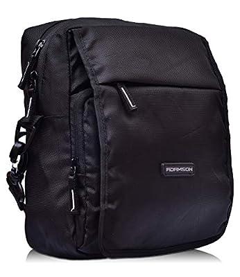 Adamson Unisex Black Travel Side Bags(ASB-078)