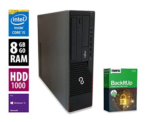 Fujitsu Esprimo E910 DT | PC | Computer | Intel Core i5-3470 @ 3,2 GHz | 8GB DDR3 RAM | 1000GB HDD | DVD-Brenner | Windows 10 Pro (Zertifiziert und Generalüberholt) -