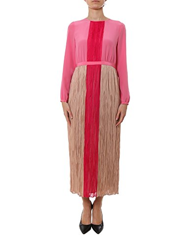 agnona-womens-u4090r940ox770-pink-silk-dress