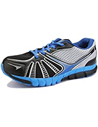 Yepme Men's Blue & Black Rexine Sports Shoes