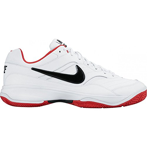 Nike 845021-106, Scarpe da Tennis Uomo, Diversi Colori (White/Black-University Red), 46 EU