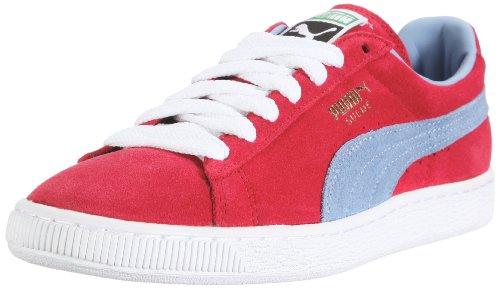 Puma Suede Classic Eco 352634, Herren Sneaker, Rot (chili pepper-forever blue 24), EU 36 (UK 3.5) (US 4.5) (Top Pj)