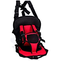 Multi-function Car Safety Seat Cover Cushion red