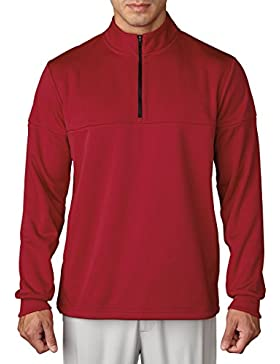 adidas Golf 2016para hombre Climawarm grabado de 1/4Zip Pullover Jersey de rendimiento, hombre, color Unity...
