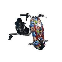 VLRA drift electric super high power scooter children drift car high speed Bluetooth adjustable 3 wheel toy -36V, with key
