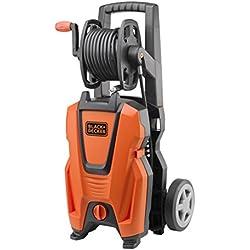 Black and Decker 14170 - Hidrolimpiadora, motor universal, 135 bar, 1800 W, color negro y naranja