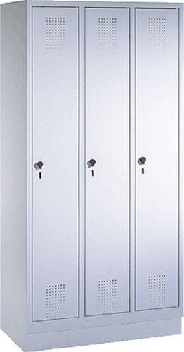 EVOLO Garderobenschrank48020-30-7035 H180xB90xT50 cm lichtgrau