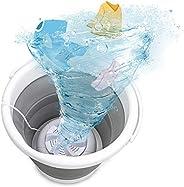 Mini machine à laver, machine de nettoyage ultrasonique portative, rondelle de turbine pliante USB, cuve de le