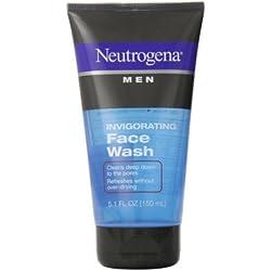 Neutrogena Men Invigorating Face Wash 5.1 fl oz(PACK OF 2)