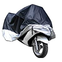 Motorcycle Bike Moped Scooter Cover Waterproof Rain UV Dust Prevention Dustproof Covering SIZE xl
