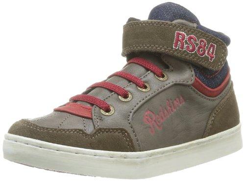 Redskins Zigzag Kid Jungen Sneaker Braun - Marron (Ebene/Rouge/Navy)