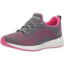 Go Run Mojo-Verve, Zapatillas Deportivas para Interior para Mujer, Azul (Navy/Teal), 36 EU Skechers