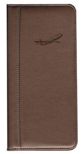 Preisvergleich Produktbild Travel Wallet +++ CHOCOLATE PASSPORT WALLET +++ Brieftasche +++ PORTEMONAIE +++ Pierre Belvédère Qualität