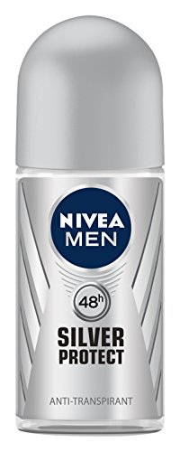 Nivea Men Silver Protect Dynamic Power Deo Roll-on, Antitranspirant, 3er Pack 3 x 50 ml
