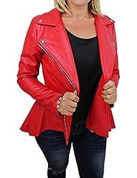 online store 15727 c4269 Amazon.it: Giacca Eco Pelle - Giacche e cappotti / Donna ...