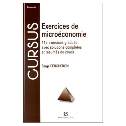 Exercices microéconomie, 7e édition