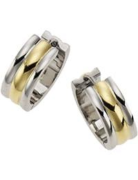 ZEEme Stainless Steel - Creole Edelstahl Gold 385010018-2
