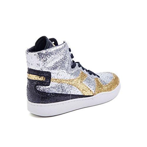 Silber Damen Heritage Diadora 20117139401c3921 Sneakers Glitter 5XPPqt