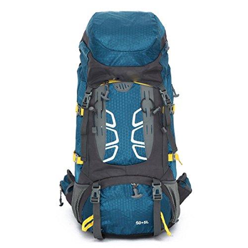 Bergsteigen Tasche Outdoor Camping Zelt Reise Wandern Paket Sporttasche,Red Blue