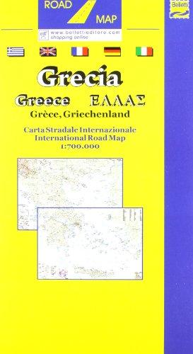 Grecia. Carta stradale internazionale 1:700.000