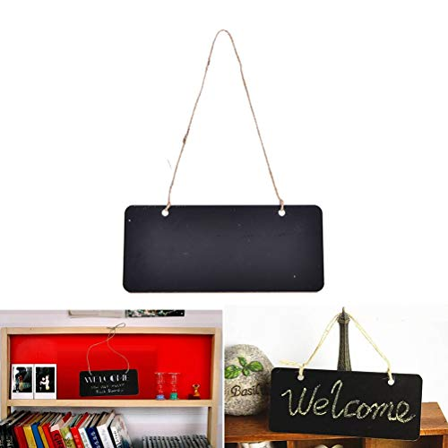 Blackboard Diy Mini Wooden Message Blackboard Chalkboard With Stand Small Black Notice Board For Wedding Home Office Decor Supplies 1pc Price Remains Stable Office & School Supplies
