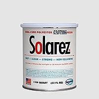 Solarez UV in resina termoplastica, 887 ml, colore: trasparente