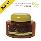 Argan Oil Hydrating Hair Mask with Moroccan Argan Oil Extract (220 ml)