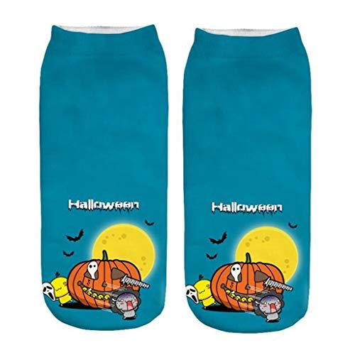 Größe Kostüm 20 Skelett - INLLADDY Costume Socken Kürbis Print Halloween Cosplay Deko Up Kostüm mittlere Größe U 20-22cm