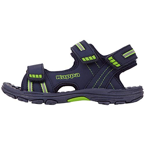 Kappa Unisex-Kinder Symi K 260685K-6730 Sneaker, Blau (Navy, 34 EU