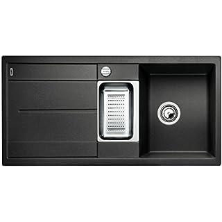 Blanco METRA 6 S, Küchenspüle, Silgranit PuraDur, anthrazit-schwarz,  reversibel, 513053