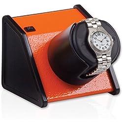 Orbita Sparta 1 Single Watch Winder - Vibrant Orange