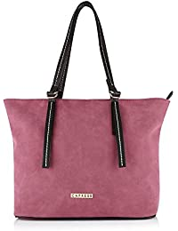 Caprese Delphy Women's Tote Bag (Magenta)