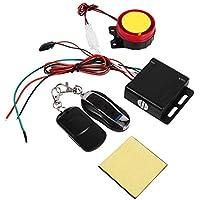 Sistema de alarma de la motocicleta 12V Universial, sistema de alarma con control remoto doble, sistema de alarma antirrobo de seguridad