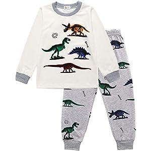 Little Hand - Pijamas Dos Piezas Pijama para niños de Excavador 2-7 años 3
