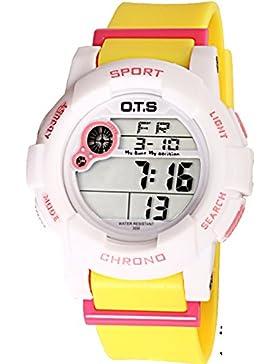 Electronic watch wasserdicht night light alarm multi-funktion outdoor sports-H