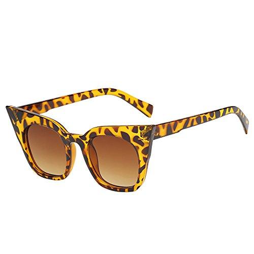 Battnot☀ Sonnenbrille für Kinder Kids Jungen Mädchen, Unisex Vintage Katzenaugen Frame Mode Rapper Shades Anti-UV Gläser Sonnenbrillen Schutzbrillen Retro Billig Cat Eye Sunglasses Eyewear