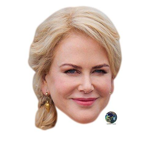 Celebrity Cutouts Nicole Kidman Maske aus Karton -