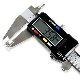 Lugii® ELECTRONIC DIGITAL CALIPERS VERNIER WITH LCD INC HARD CASE (Digital 200mm)