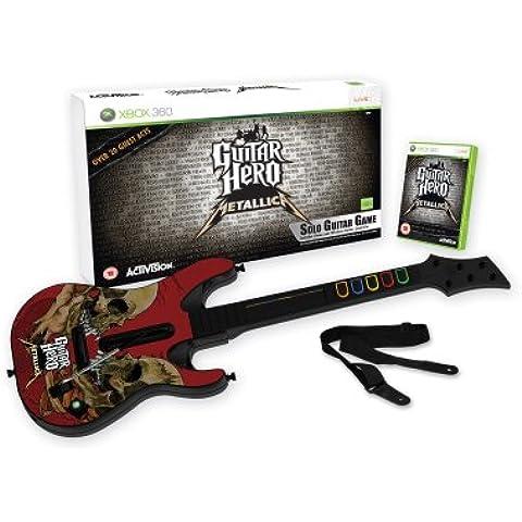 Guitar Hero: Metallica - Guitar Bundle (Xbox 360) [Importación Inglesa]