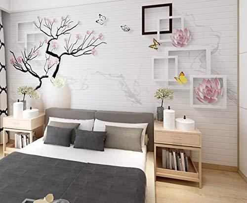 Moderne minimalistische 3D wohnzimmer TV hintergrund wand papier video wanddekoration schlafzimmer wandbild 5d net rote tapete wandverkleidung 200 cm * 140 cm