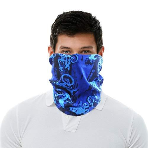 Takestop® fascia bandana copricapo multifunzione ws1327 sciarpa elastica bici moto collo protezione scaldacollo multiuso sport escursionismo ciclismo corsa fantasia casuale