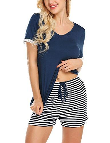 Pyjamas Women Loungewear Pjs Cot...