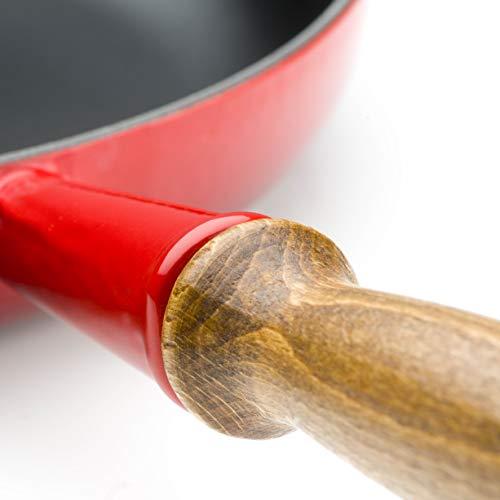 Le Creuset Bratpfanne mit Holzgriff (26 cm)