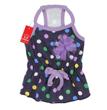 Puppia pala-ts842cane lunghe vestito Fiesta, S, colore: blu