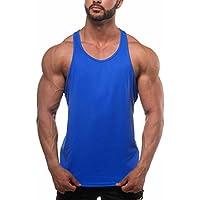 Amazon.it  Blu - Maglie senza maniche   Maglie e T-shirt  Sport e ... 8b7108b42784