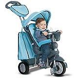 giochi preziosi OFR8200400 triciclo smart trike explorer 5-en-1 de agua azul