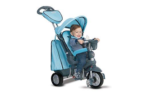 smarTrike 8200400 - Dreiradfahrzeug Explorer, blau (Smartrike Kinder-dreirad)
